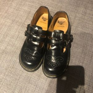 Dr martens 8065 leather Mary Janes barely worn